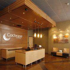 Cochrane & Company - Lobby/Reception Area, Spokane WA