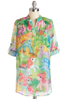 My Little Pretty Top, #ModCloth.  Can't believe it!  Think I could wear this to work?