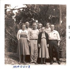 ida maddox and family