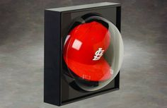 The latest way to display a collectible baseball cap! Display Case - Baseball Cap Domed Case