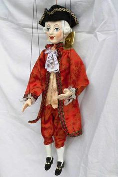 Mozart marionette, puppet