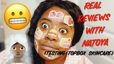 Real Reviews with Natoya - Testing skincare received in my Topbox Cross My Fingers, Aqua Eyes, Makeup Haul, Song Of Style, Sephora, Skincare, Lips, Pure Products, Make It Yourself