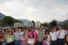 Landa de Matamoros Qro. 08 de abril de 2016.- Visita el Municipio el delegado Federal de SEDESOL para el Gobierno...