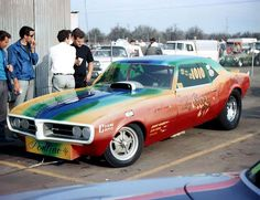 Don and Roy Gay Funny Car out of Dickinson, Texas.