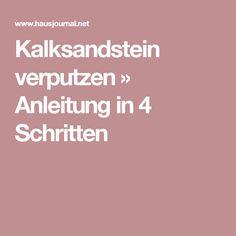 Kalksandstein Verputzen » Anleitung In 4 Schritten