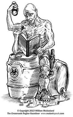 The Mutant Epoch::Art from The Corssroads Regional Gazetteer book Gallery 3