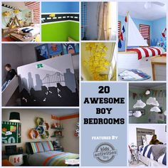 20 Awesome Boy Bedrooms