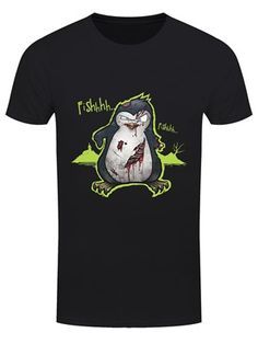 Psycho Penguin is back from the dead and on the hunt for 'Fishhhh'. Featuring our zombiefied favourite, this brilliant tee sees the deranged looking bird missing a limb or two and looking as unhinged as ever! Penguins, Blessed, Wings, Bird, Tees, Mens Tops, T Shirt, Black, Supreme T Shirt