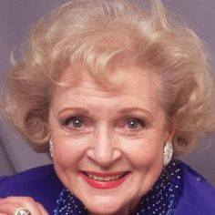 Betty White short curls hairstyle http://zntent.com/betty-white-short-curls-hairstyle/