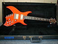 1978 BC Rich Bich 10 String Rare Comp Red Joe Perry 100% original Vintage