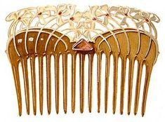 Art Nouveau Hair Comb by Paul Follot