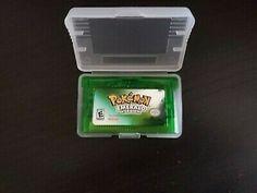 Pokemon Emerald Version (Game Boy Advance, for sale online Gameboy Pokemon, Pokemon Firered, Pokemon Games, Nintendo Game Boy Advance, Nintendo Ds, Nintendo Games, Sapphire Pokemon, Pokemon Emerald, Super Mario World