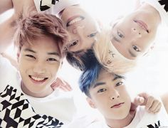 Kai, Chen, Xiumin, Baekhyun - 160926 Second official photobook 'Dear Happiness' - [SCAN][HQ] Credit: 에포크.