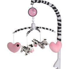 Baby Boom Crib Mobile, I Luv Zebra...i have to say i completely love the zebra