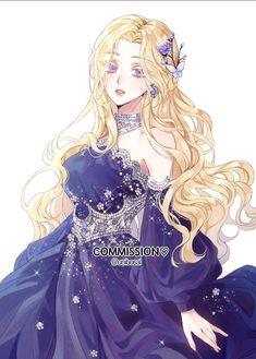 Pretty Anime Girl, Cool Anime Girl, Beautiful Anime Girl, Kawaii Anime Girl, Anime Art Girl, Queen Anime, Anime Princess, Anime Girl Dress, Manga Girl