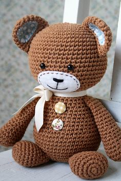Smugly-bear is such a sweetheart! Stumpy body, smugly face and frisky ears give him the special character. He is clumsy, but even when he stumbles he still looks cute because of the special heart on his butt :)