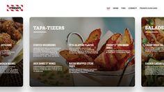 Restaurant menu concept 2