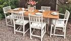 Shabby Chic_Extending Dining Table and 6 Chairs_1940s Draw leaf_light oak_F&B