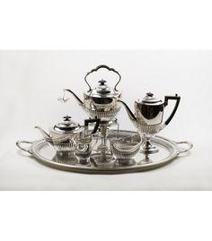 Juego de Café y Bandeja Mappin&Webb's - Princes Plate - London & Sheffield