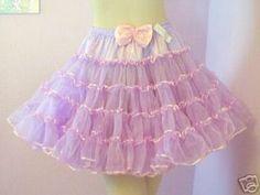 crinoline petticoat   Lavender Square Dancers Slip Crinoline Petticoat M   eBay