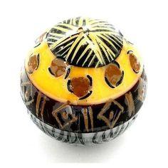 Hand-Painted Ball Candle - Uzima Design - Nobunto