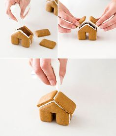 Mini Gingerbread House Kit!