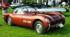 Pontiac automobile - 1954 Pontiac Bonneville Special show car