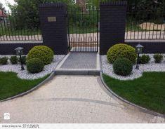 Low maintenance yard idea - All For Garden Outdoor Landscaping, Front Yard Landscaping, Outdoor Gardens, Landscape Design, Garden Design, Low Maintenance Garden, Garden Planning, Gardening, House