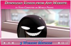 3 Easy Methods to Download Videos on Desktop PC or Mobile Computer Problems, Android Hacks, Download Video, Laptop Computers, Desktop, Phone, Videos, Easy, Telephone