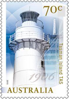 Esta emisión de sellos conmemora 100 años de la gestión de ciudadanía de los faros. Compra en la tienda o en línea
