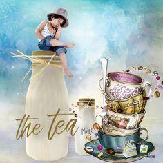 """Nuevo diseño en mi tienda """"The tea"""" tiene variantes para elegir, mira mas ejemplos.......yo lo personalizo con tu imagen Photoshop, Tea, Painting, Tents, Elegant, High Tea, Painting Art, Paintings, Draw"""