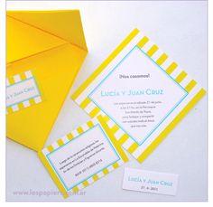 Invitaciones de Casamiento realizada con la técnica Origami