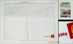 McDonald's napkin ad