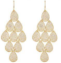Irene Neuwirth Diamond Collection Women's Nine-Drop Earrings