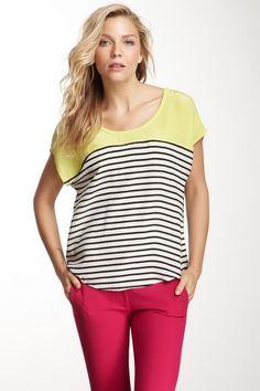 Agacia Striped Silk Shirt by Joie on @HauteLook