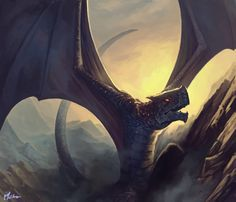 An image from 2011 for Fantasy Flight Games - it never wowed me, but it did pull together well enough I think. At the very least it taught me some groov. Drake, Myths & Monsters, Magic The Gathering, Deviantart, Fantasy Art, Batman, Dragons, Superhero, Animals