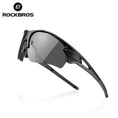1ba643a36d ROCKBROS Polarized Cycling Glasses Photochromic Bike Glasses Outdoor Sport  Bicycle Sunglasses Goggles Eyewear Myopia Frame M6188