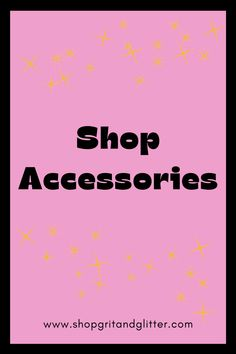 Click here to shop Grit & Glitter's selection of cute, trendy accessories. Phone cases, face masks and so much more awaits :)