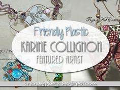 The Art of Friendly Plastic: Creating an stamped metal effect with Aleenes Tacky Glue and Friendly Plastic - Video feature by Karine Collignon Jewelry Art, Jewelry Ideas, Jewellery, Shrink Plastic Jewelry, Friendly Plastic, Random Acts, Button Art, Air Dry Clay, Metal Stamping