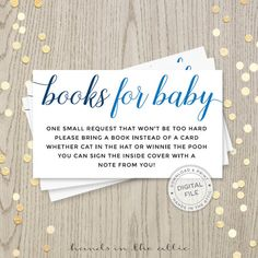51 Best Baby Shower Inserts Images In 2019
