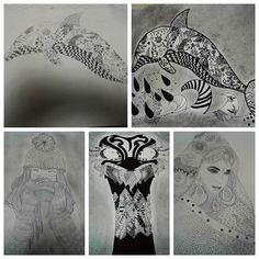 Görsel Sanatlar dersimizde farklı çizgilerle oluşturduğumuz desen çalışmalarımız sona erdi. Öğrencilerimiz bu konumuzda farklı çizgileri kullanarak desen oluşturulabileceğini öğrenmiş oldular.