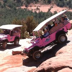 Great pink jeep tours in Sedona, Arizona