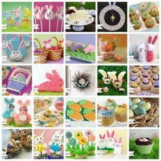 100 Easter Desserts, Decorations, Crafts