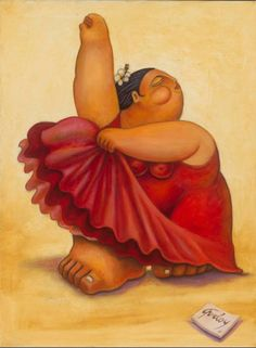 Born in Cuba in 1960, painter Alberto Godoy has embraced symbolic folkloric themes depicting scenes from everyday historical Cuban life.