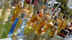 Our tequila selection at Now Amber Puerto Vallarta. Come try them all on your beach vacation!
