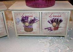 szkatułki pojemniki do kuchni z szufladami prowansalskie