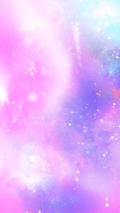 Pink and purple pastel galaxy iPhone wallpaper