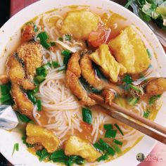Vietnamese Cuisine, Vietnamese Recipes, Asian Recipes, Ethnic Recipes, Food Menu, Thai Red Curry, Food And Drink, Yummy Food, Treats