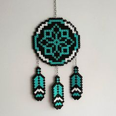 Dreamcacther hama beads by inguzhandmade More