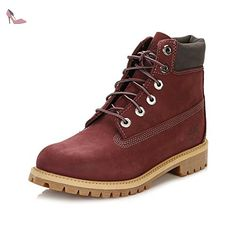 Timberland Junior Dark Port 6 Inch Premium Waterproof Bottes-UK 4 - Chaussures timberland (*Partner-Link)